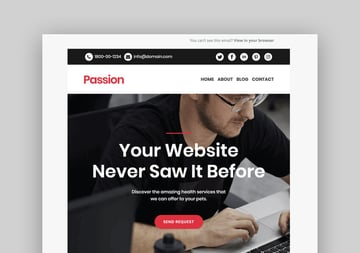 Passion - Mailchimp Responsive Template
