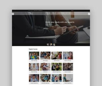 Flora - Responsive Moodle University Website Theme