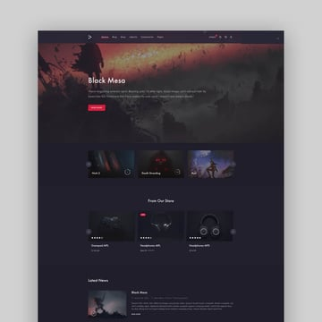 MonsterPlay - eSports and Gaming Website HTML Template