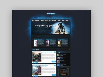 Orizon - The Gaming Template HTML version