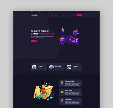 Playdo - Online Gaming HTML Template