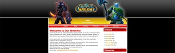 WoW Free Website Template