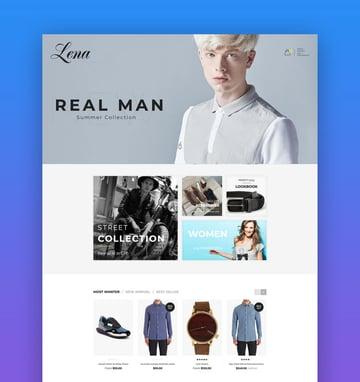Lena  Responsive Shopify AR Theme