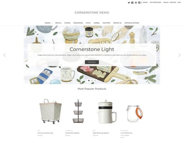 Cornerstone-Light Free BigCommerce Theme