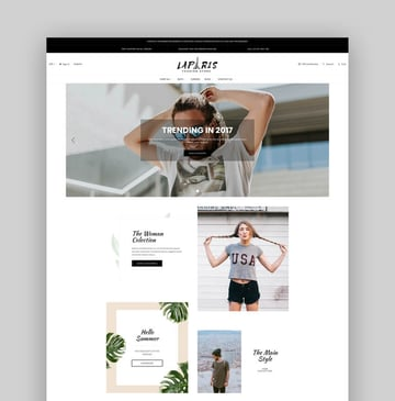 LaParis - Simple Creative Responsive BigCommerce Stencil Theme