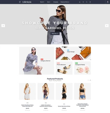 LifeStyle Free BigCommerce Theme