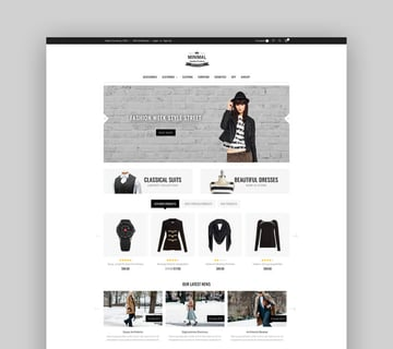 Minimal - Multipurpose Stencil BigCommerce Theme