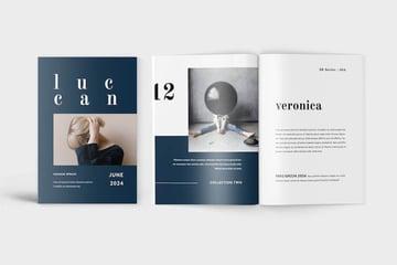 Luccan Fashion Lookbook Catalogue