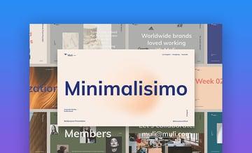 Muli Minimalist PowerPoint Template