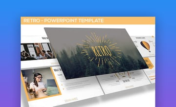 Retro PowerPoint Template