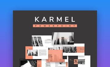 Karmel Stylish PowerPoint Template