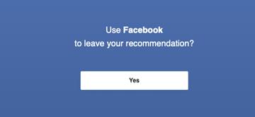 facebook review invite