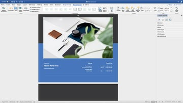 Adding a cover image to the Brief Proposal template