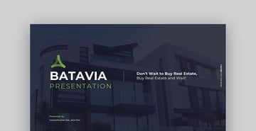 Batavia Real Estate PowerPoint Presentation Template