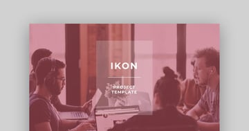 Ikon Project Template For PowerPoint