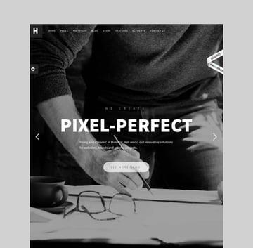 Heli - Minimal Creative WordPress Theme