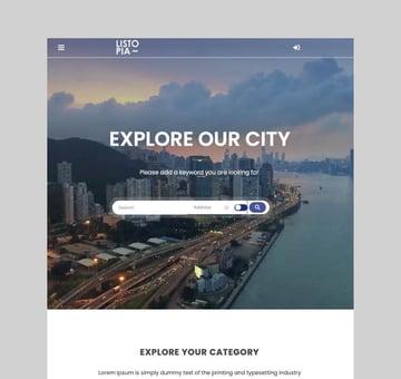 Listopia - Directory and Community WordPress Theme