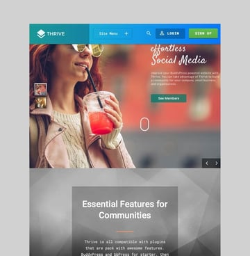 Thrive - Intranet and Community Theme for WordPress