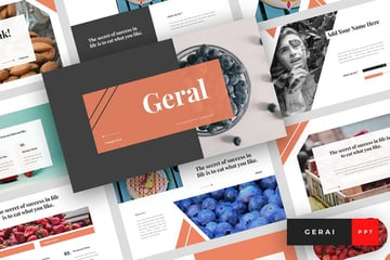 Geral Food PowerPoint Template