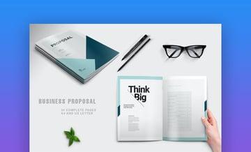 Proposal modern business template