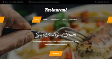 Bistro Lite WordPress theme