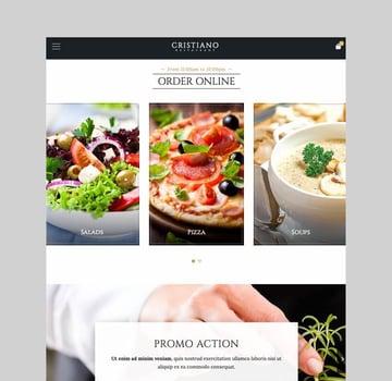 Cristiano restaurant wordpress theme