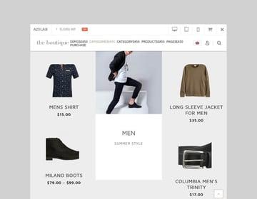 Floris fashion shopping WooCommerce theme