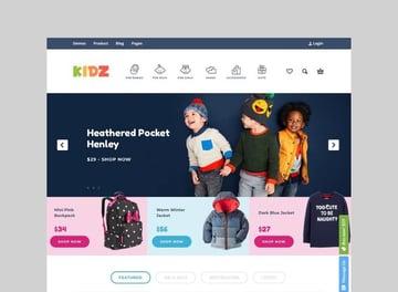 KIDZ baby shop WooCommerce theme