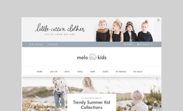 MeloKids kids shop WooCommerce theme