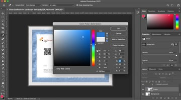 Customizing the frame of your template