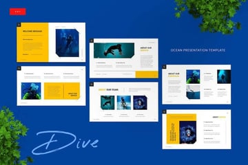 Dive Ocean PowerPoint Template
