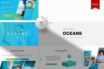 Oceans PowerPoint template