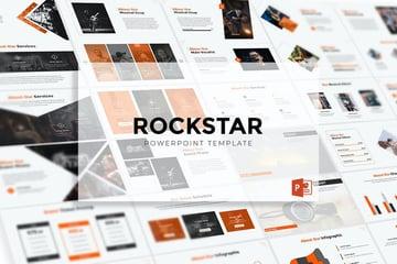 Rockstar PPT template