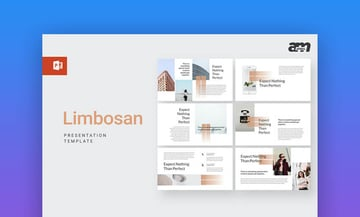 Limbosan powerpoint template