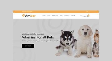 Amber - Pet Care Shopify Theme