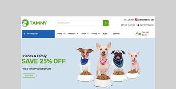 Tammy - Pet Care Shopify Theme