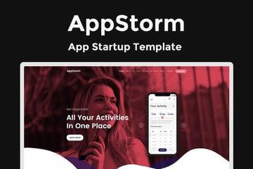 AppStorm Landing Page