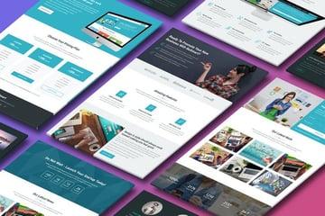 BeSmart Landing Page Template