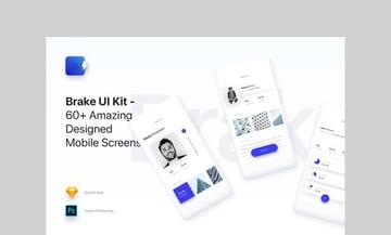 Brake UI Kit by panoplystore