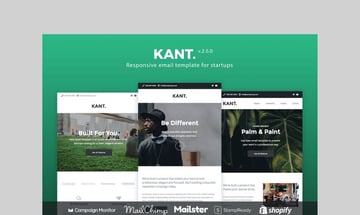 Kant responsive email template