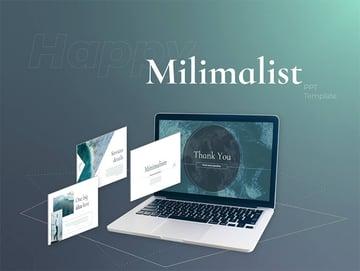 Free Minimalist PPT Template