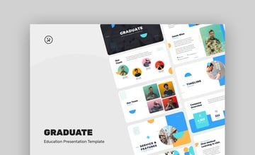 Graduate Education PowerPoint Template