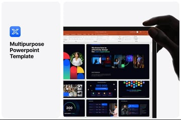 Free PowerPoint template MultiPurpose