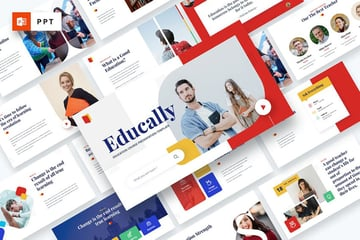 Educally PowerPoint Template on Envato Elements