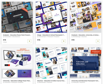 Graduation PowerPoint Templates on GraphicRiver