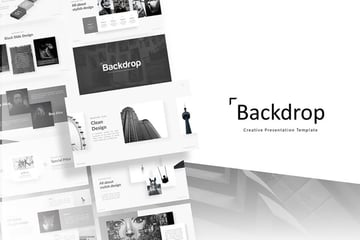 Backdrop PowerPoint Template on Envato Elements