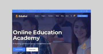 Edukul Online Course WooCommerce Theme