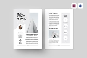 Newsletter Template for Microsoft Word