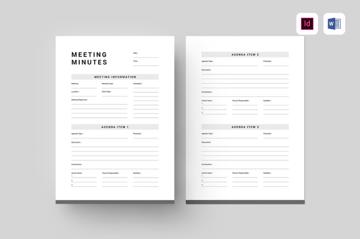 Meeting Minutes theme on Envato Elements