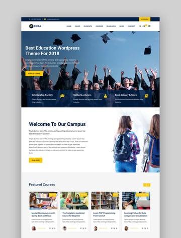 Eikra Education WooCommerce Theme